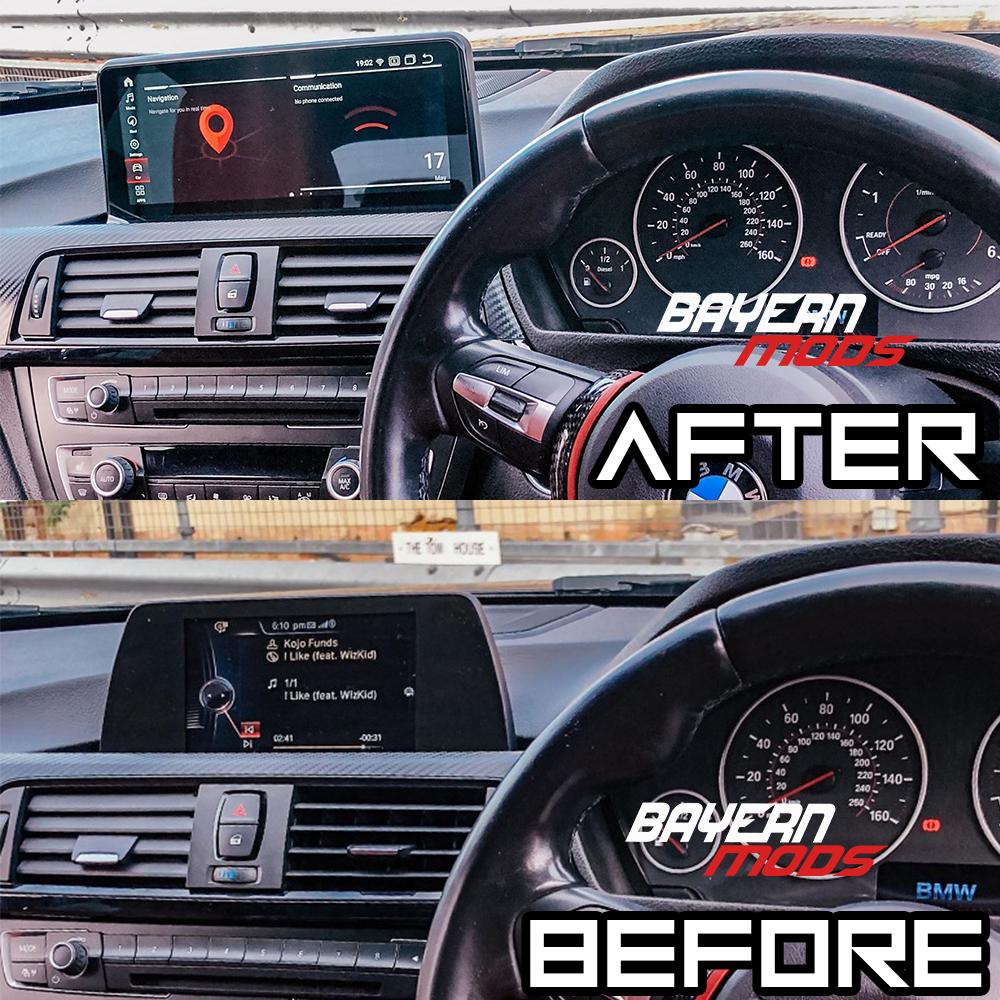 BMW 1 series head unit