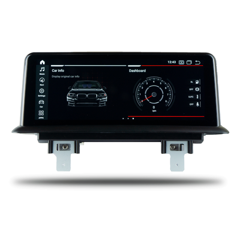 BMW E82 1 Series Bayern mods Falcon Display 10.25 inch touch screen