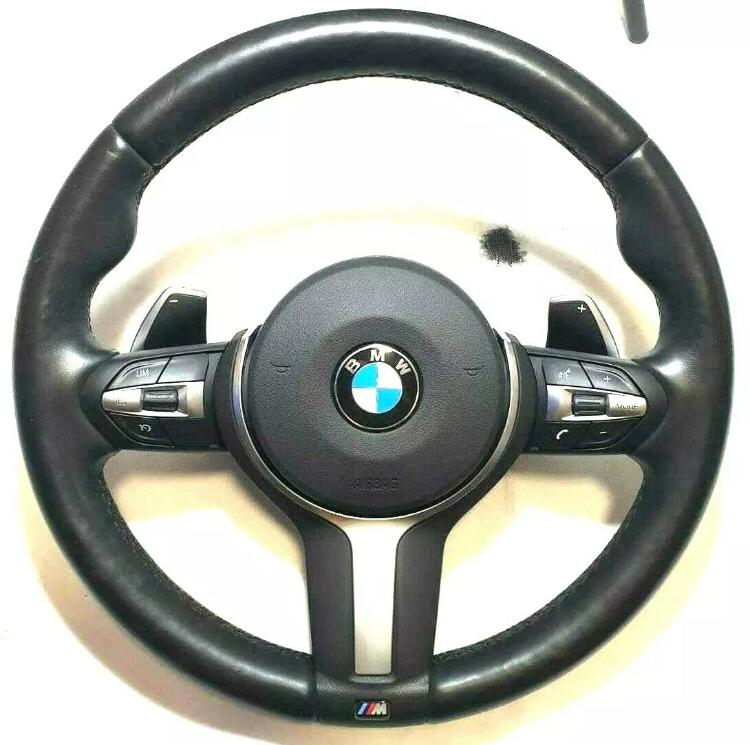 m performance heated steering wheel with paddle shifts