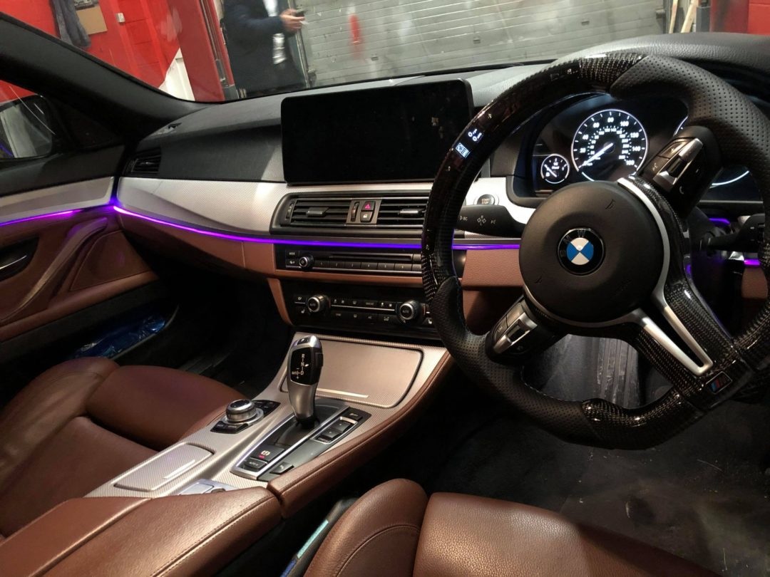 BMW Ambient lighting bayern mods