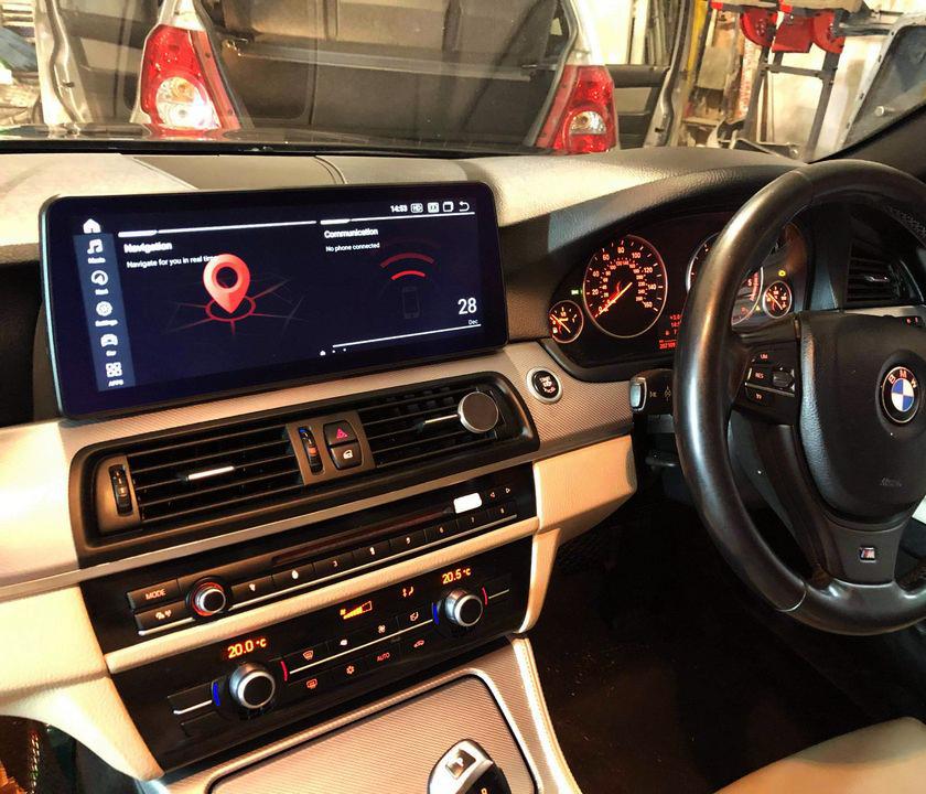 BMW F10 galaxy display bayern mods