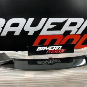 bayern mods 4 series carbon fibre front splitter