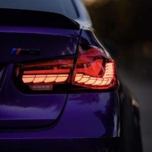 BMW 3 series real lights